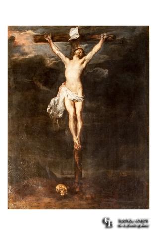 Antoon van Dyck, Crocifissione, Palermo 1624